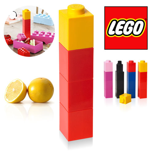 "LEGO - Drinking Bottle ""Square"" - Rot"