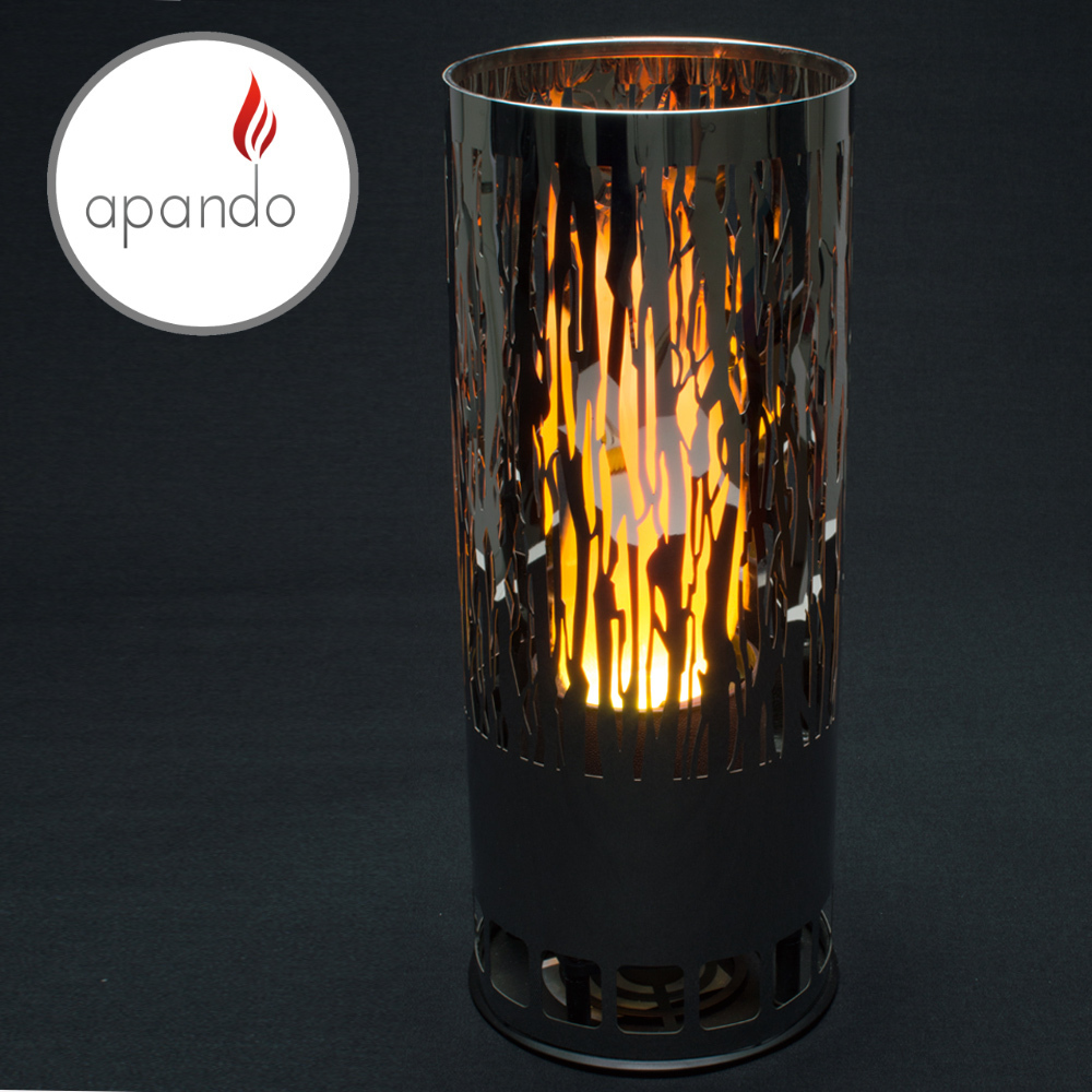 "Apando - Flame light ""Brazier"" - Vine black"