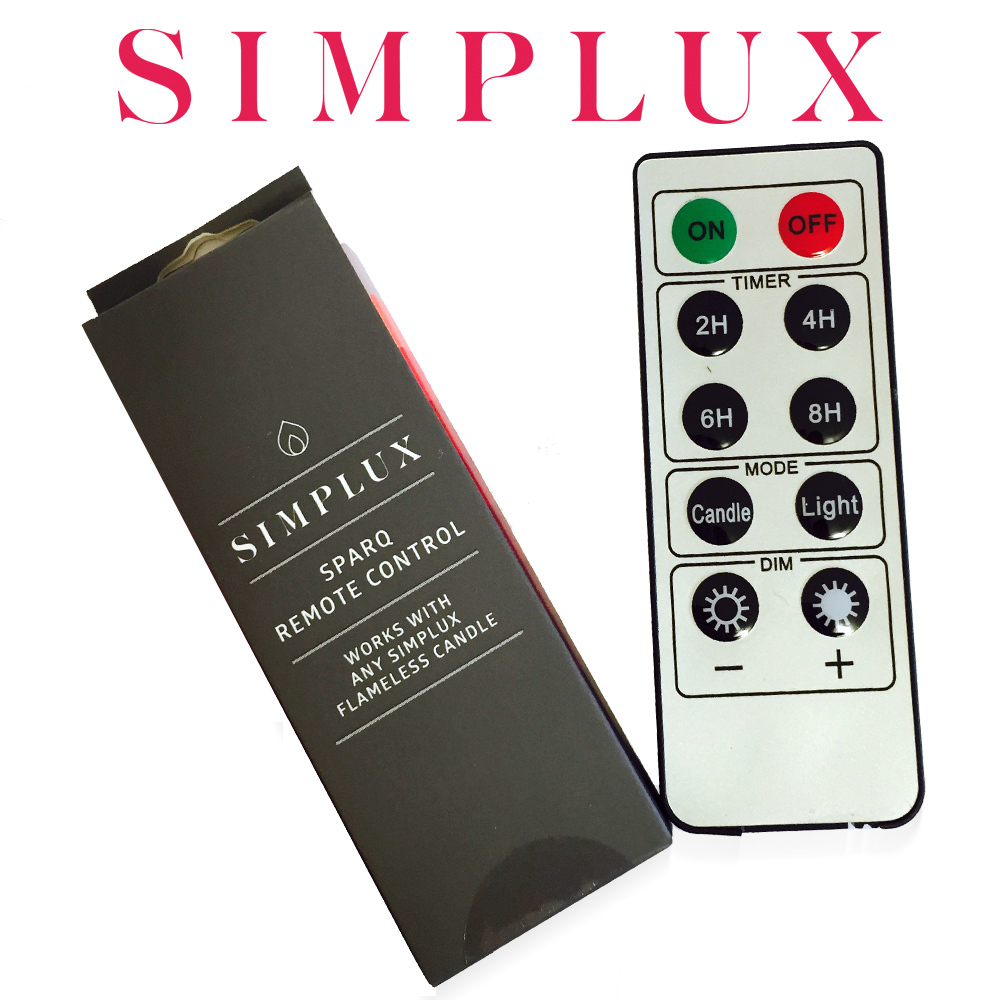 Simplux - SPARQ remote control for LED candles