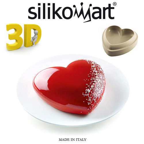 Silikomart - Backform 3D Batticuore
