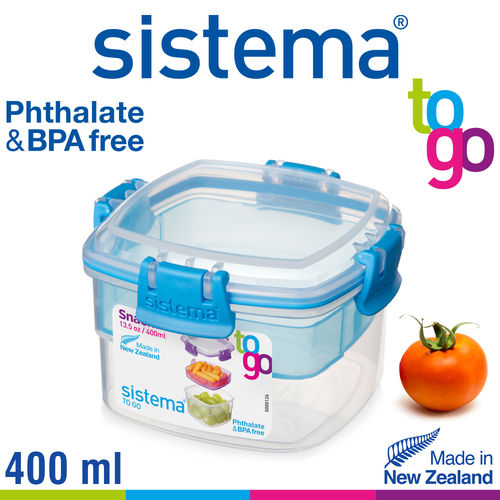 sistema - Snack Box To Go - 400 ml