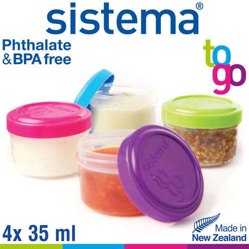 sistema - Dressing To Go 4er Set
