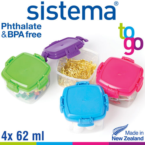 sistema - Knick Knack Pack Mini To Go 4er Set