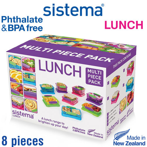 sistema - Lunch Frischhalteboxen-Set