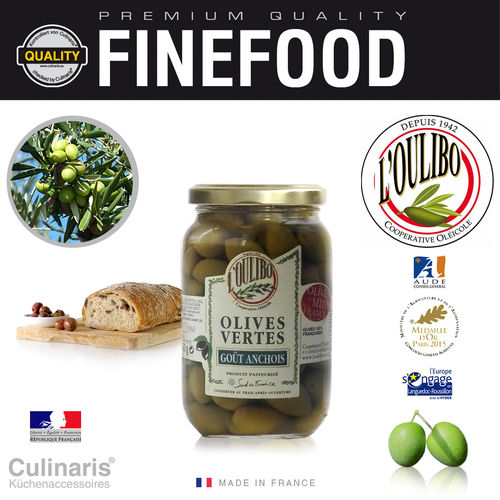 Culinaris - L'Oulibo Oliven Sardellen - Lucques Nature 380g
