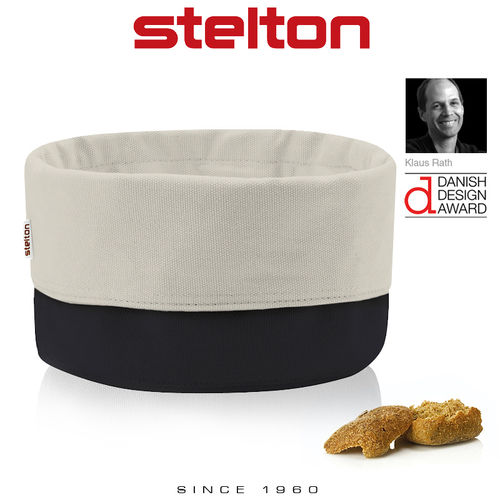 Stelton - Bread Bag - Black/Sand