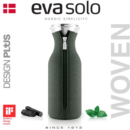 EVA Solo - Fridge Carafe - 1L - Forest Green - Woven