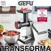 Gefu - Meat mincer TRANSFORMA