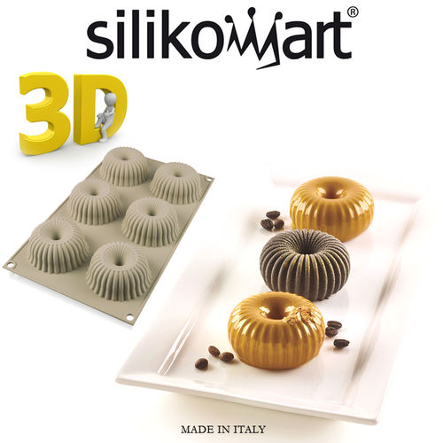 Silikomart - Backform 3D Mini Raggio
