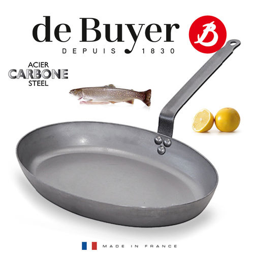 de Buyer - Carbone PLUS - ovale Fischpfanne 36 cm