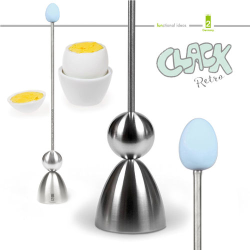 Take2 - CLACK - egg cracker - Retro Light Blue