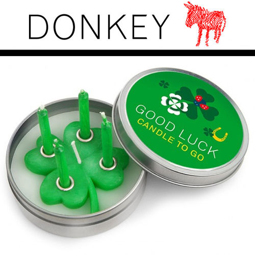 Donkey - Candle to go - Good Luck
