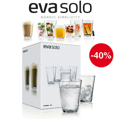 Eva Solo - Gift-packaged drinking glasses - Set of 8