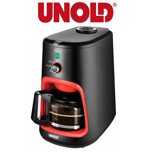 Unold - COFFEE MAKER Grinder Compact Orange