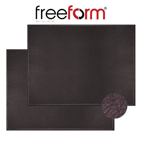 Freeform - Placemat - Vintage Brown - 40 x 30 cm