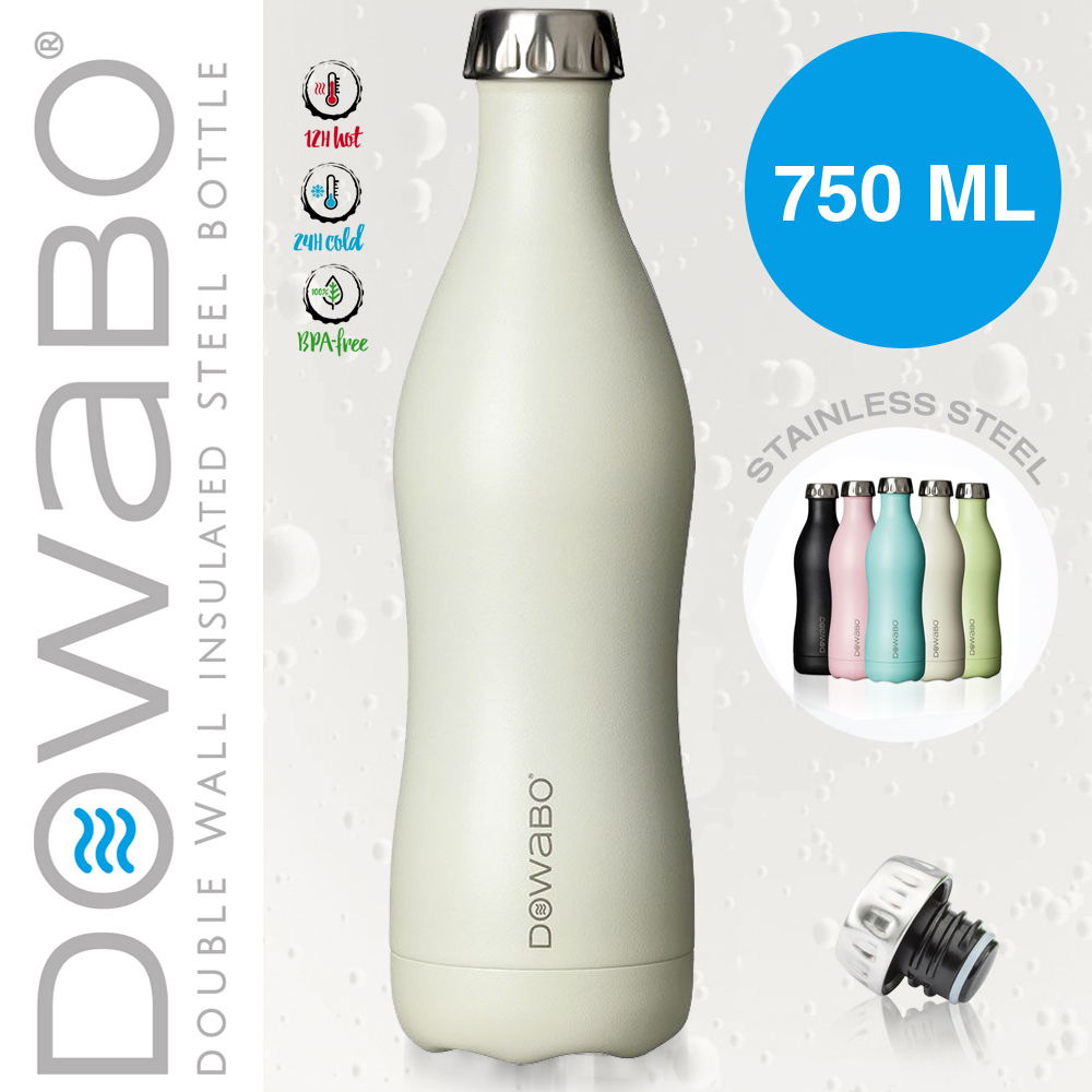 Dowabo - Double Wall Insuladet Bottle - Pina Colada 750 ml