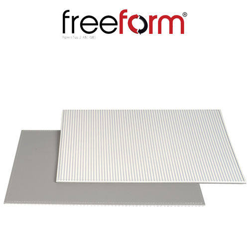 Freeform - Placemat - Striepes Grey - 40 x 30 cm