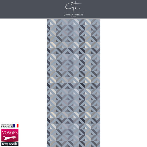 Garnier Thiebaut Table Runner - Mille Twist Asphalte