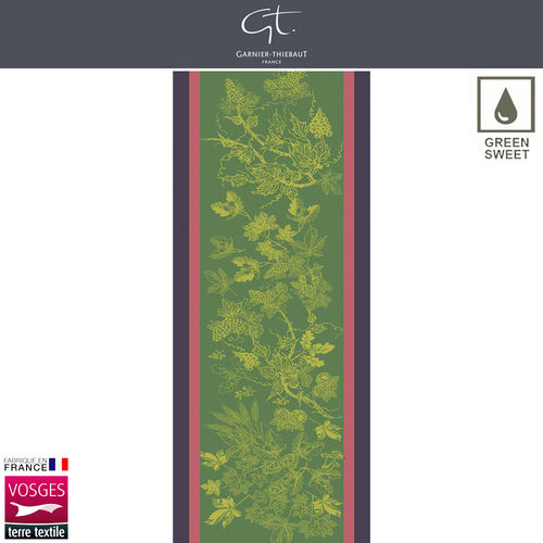 Garnier Thiebaut Table Runner - Plaisirs D'Automne Muscat