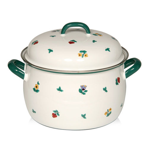 Riess - GMUNDNER FLOWERS - Meat Pot with Lid