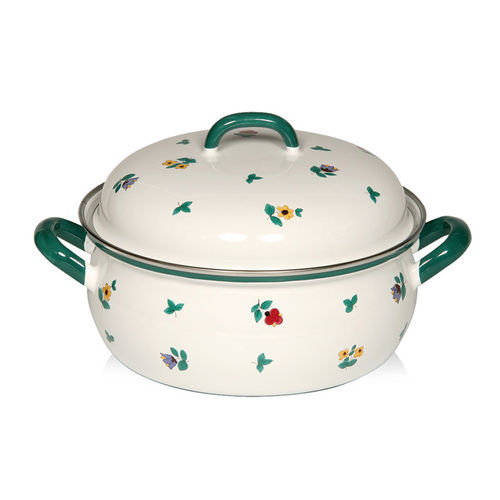 Riess - GMUNDNER FLOWERS - Casserole with Lid