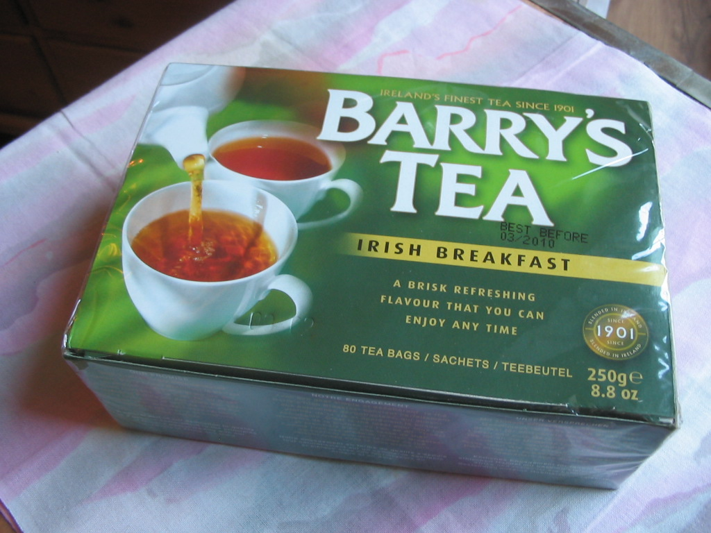 Barrys Tea Irish Breakfast, Beuteltee in 250g Originalverpackung