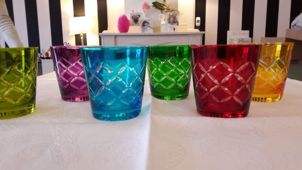 Wasserglas Bunt Le Cadeau