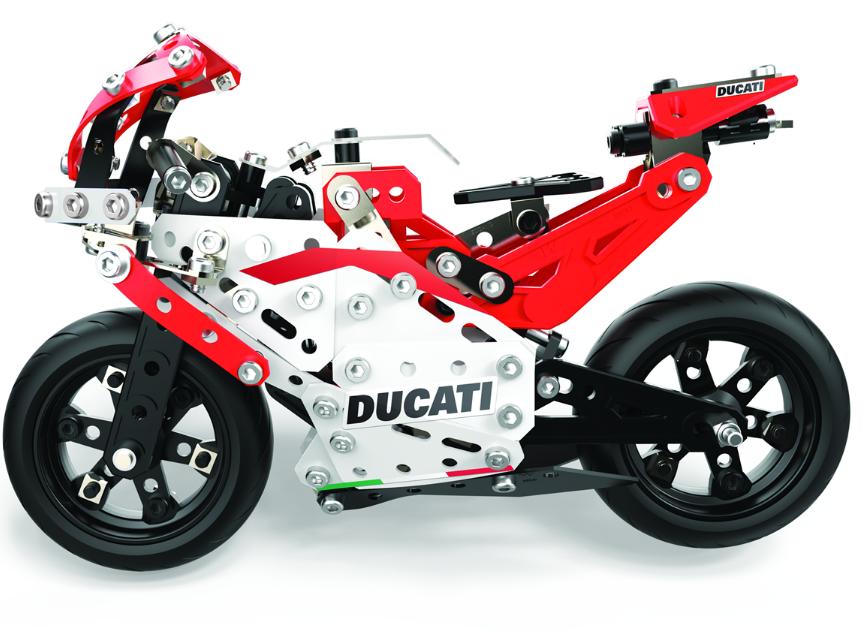Meccano Ducati DESMOSEDICI Moto GP 17 Bike