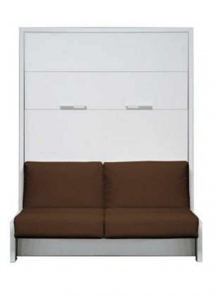 Remarkable Ts Mobel Wandbett Mit Sofa Wbs 1 Classic 160 X 200 Cm In Weiss Interior Design Ideas Greaswefileorg