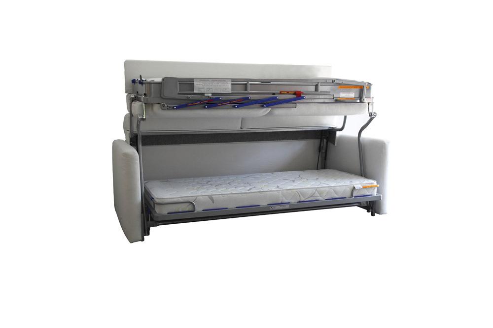 Etagenbett Schlafsofa : Ts möbel wall bed duo sofa mit etagenbett inkl matratzen neu