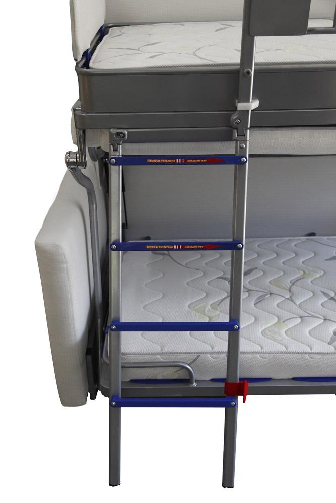 Matratzen · TS Möbel Wall Bed Duo Sofa Mit Etagenbett Inkl. Matratzen