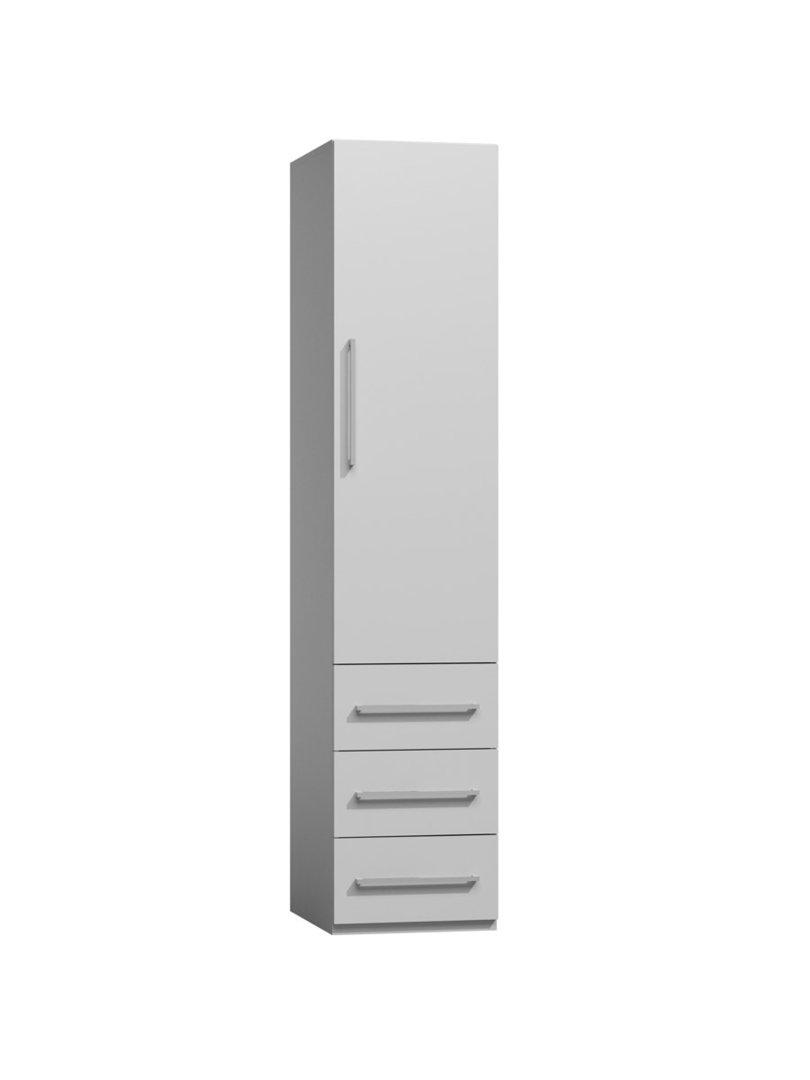 TS Möbel Modul M-B3S 50- für alle Wandbetten möglich in Weiß