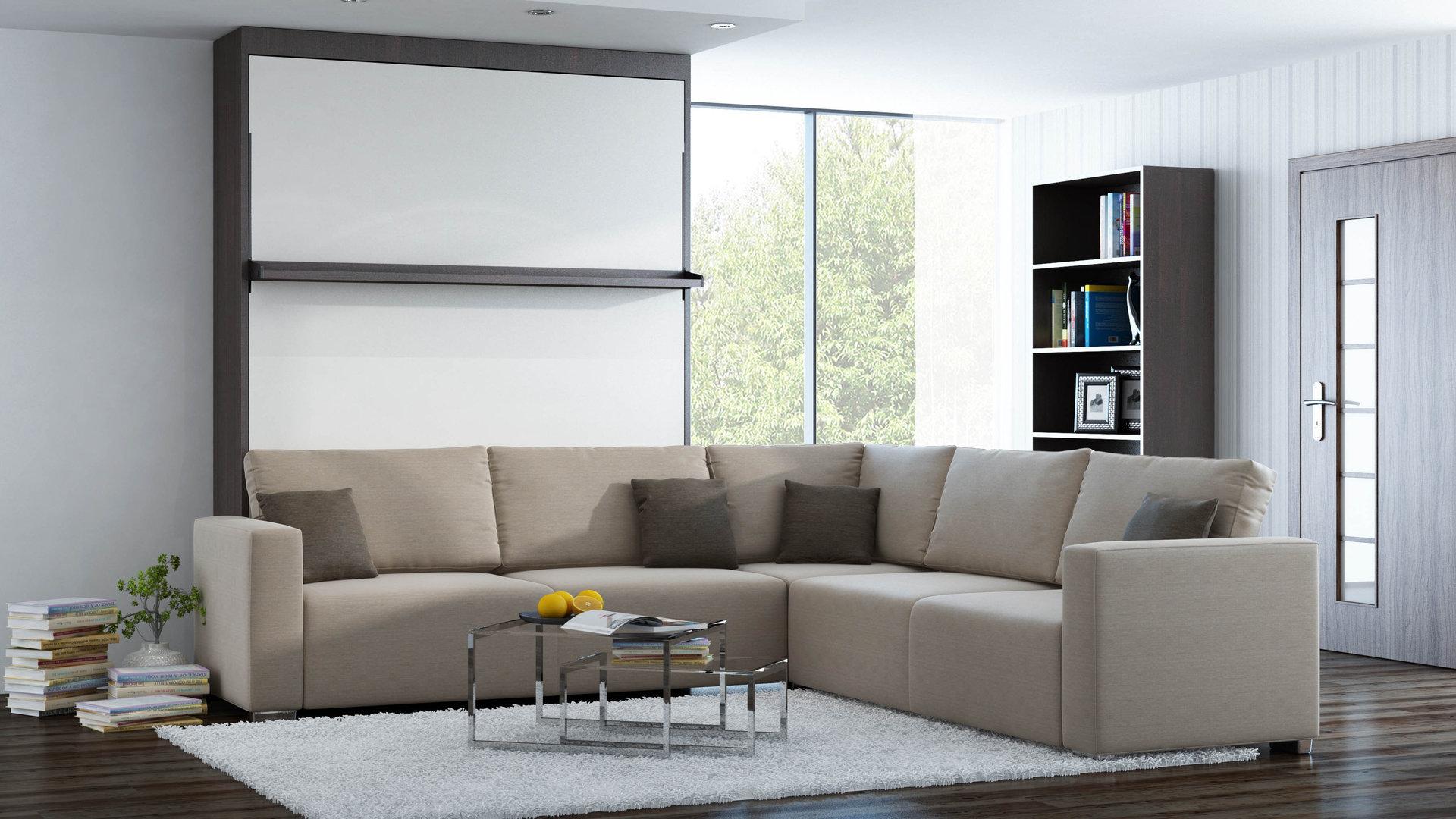 Eitelkeit Sofa Ecke Ideen Von Ts Möbel Wandbett Mit Leggio Linea Std-std