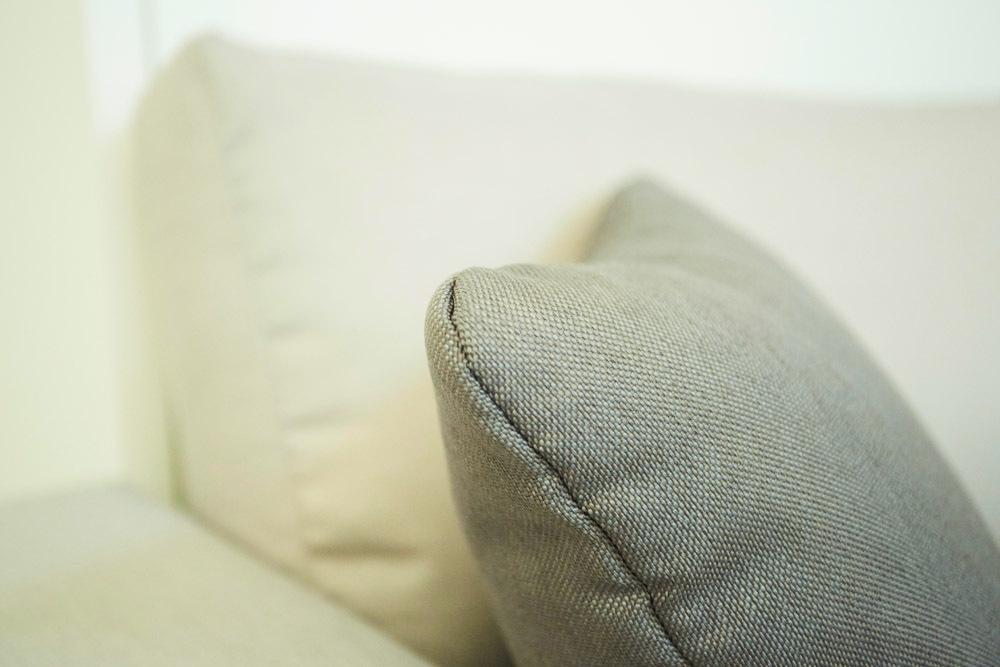 TS Möbel Wandbett mit Sofa Ecke Leggio Linea STD-STD 160 x 200 cm Gladstone Eiche Weiß