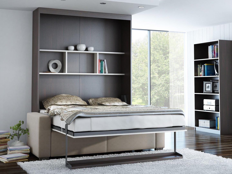 Ts m bel wandbett mit sofa leggio linea std 140 x 200 cm - Wandbett mit sofa ...