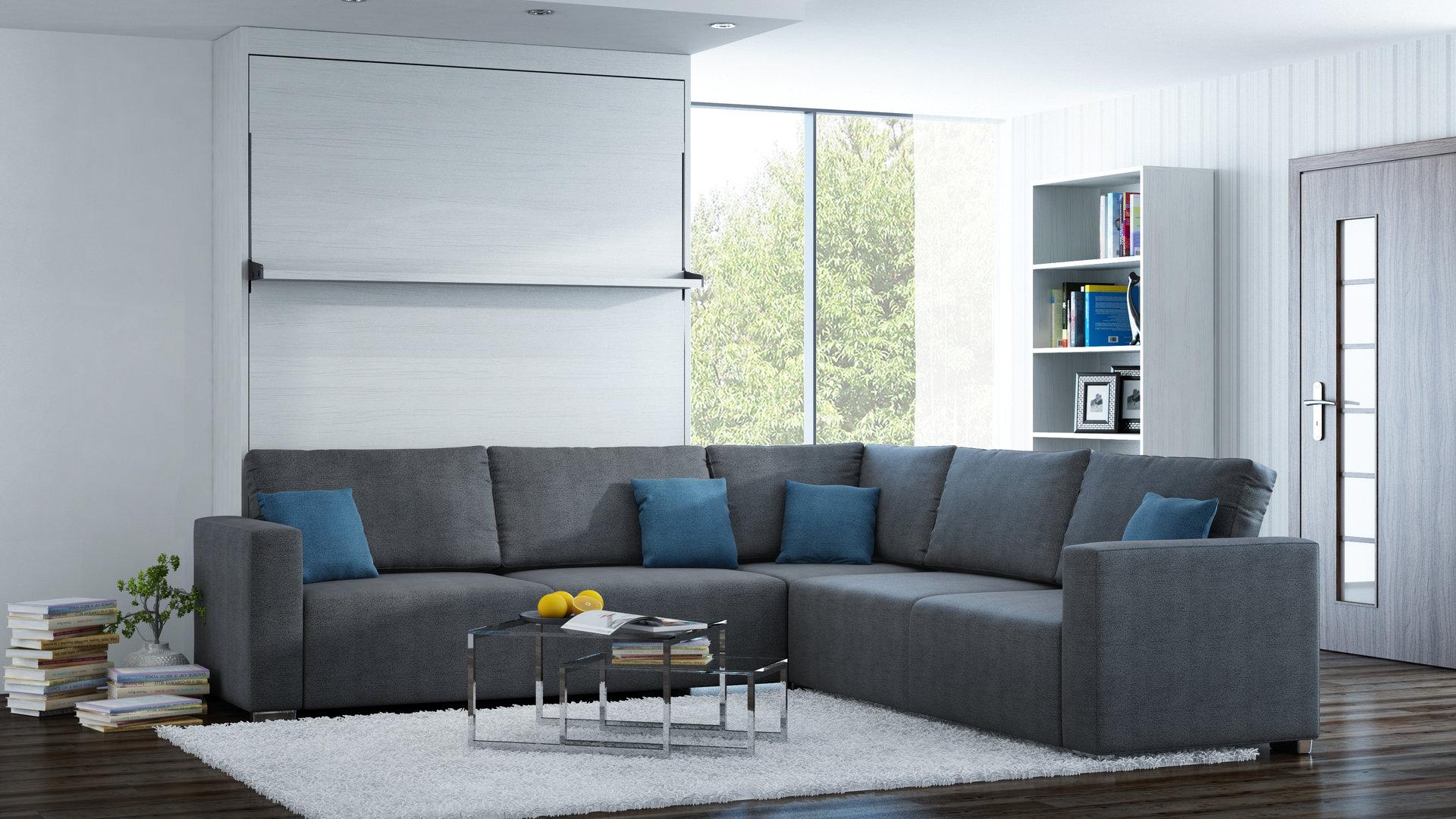 Brilliant Sofa Möbel Referenz Von Ts Möbel Wandbett Mit Ecke Leggio Linea