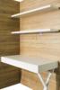 TS Möbel Panell mit Schreibtisch Office für alle Wandbetten WBS möglich Bardolino Eiche-Weiß