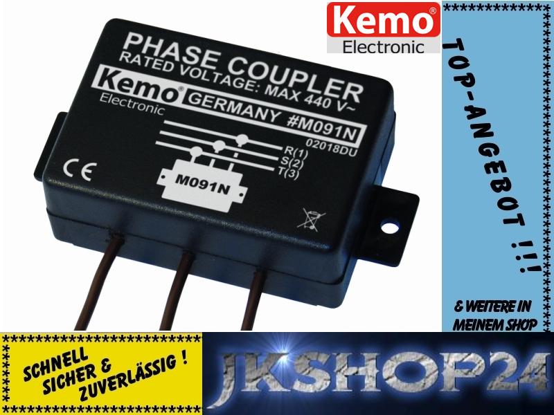 neu kemo m091n 3 phasenkoppler f r powerline produkte phasen koppler hausnetz ebay. Black Bedroom Furniture Sets. Home Design Ideas