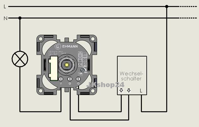 m beleinbau dimmer 230v 4900x0700 lampen led halogen 7. Black Bedroom Furniture Sets. Home Design Ideas