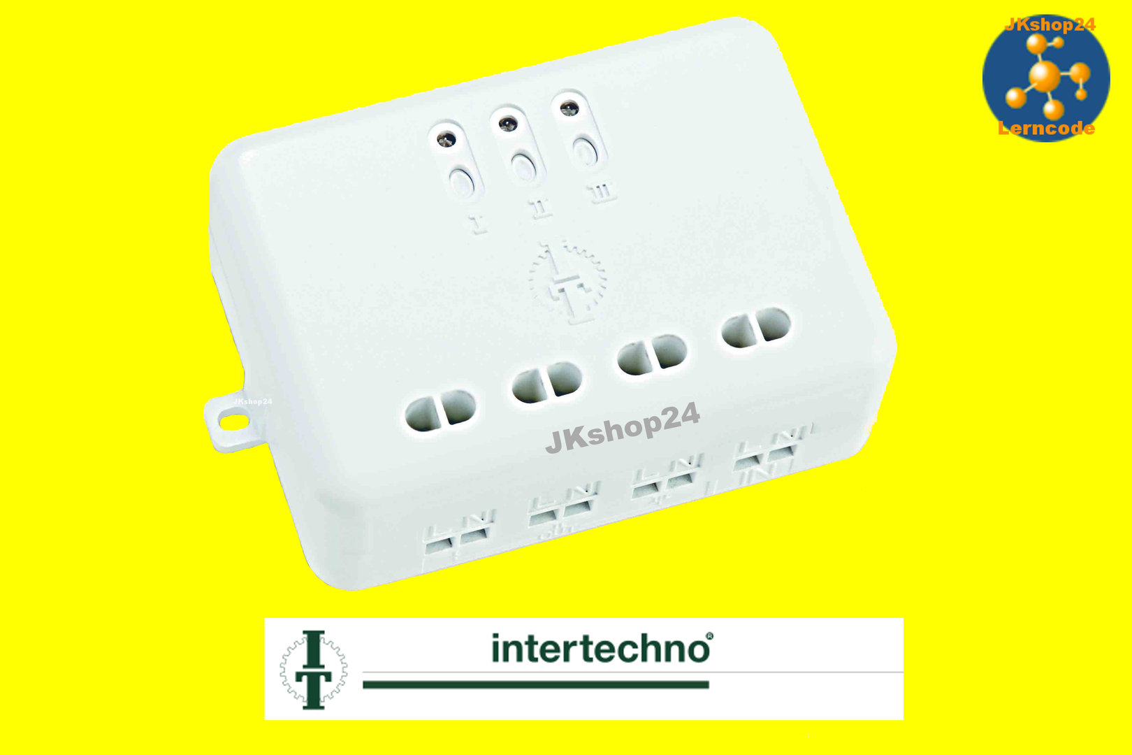 Intertechno funk schalter sender empf nger it modul dimmer for Koch 4 kanal funk dimmer