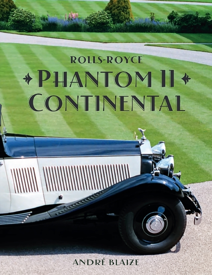 Rolls-Royce Phantom II Continental - RRAB Shop