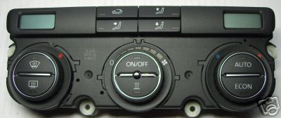 VW Climatronic operator unit with Electronic control unit