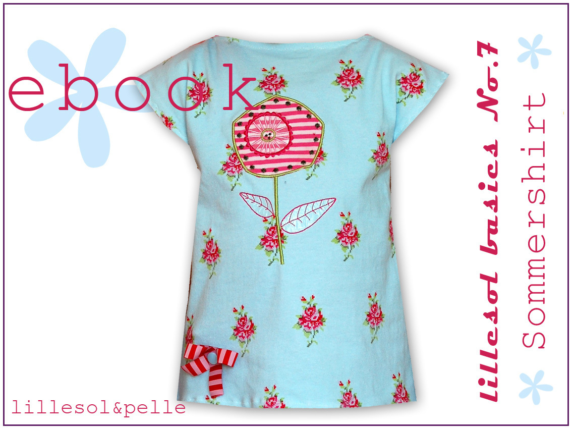 Ebook / Schnittmuster lillesol basics No.7 Sommershirt