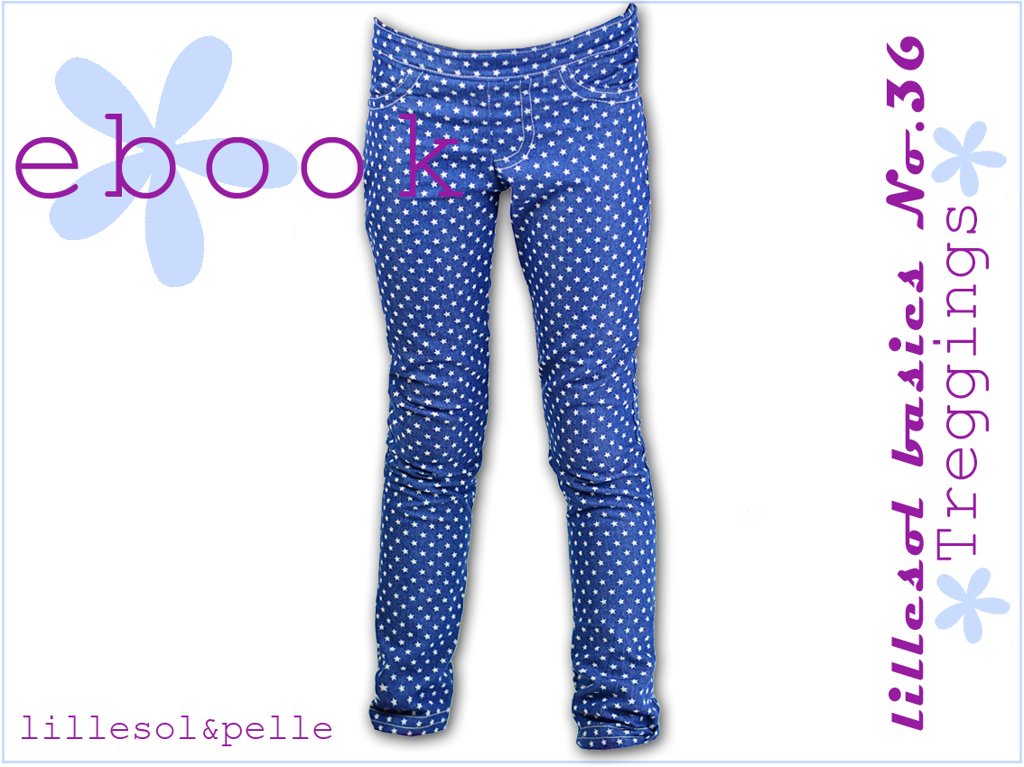 Ebook / Schnittmuster lillesol basics No.36 Treggings