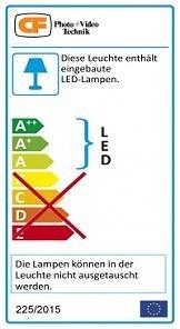 Ringleuchte 240 LEDs mit Powerpack