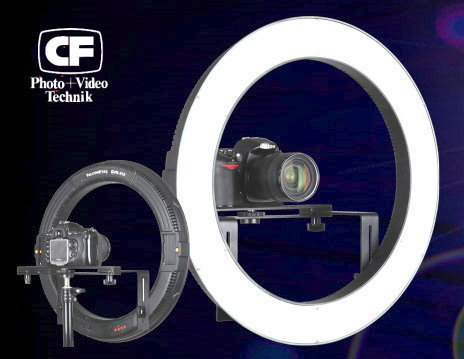 CF Photo LED Ringlicht DVR-512DVC