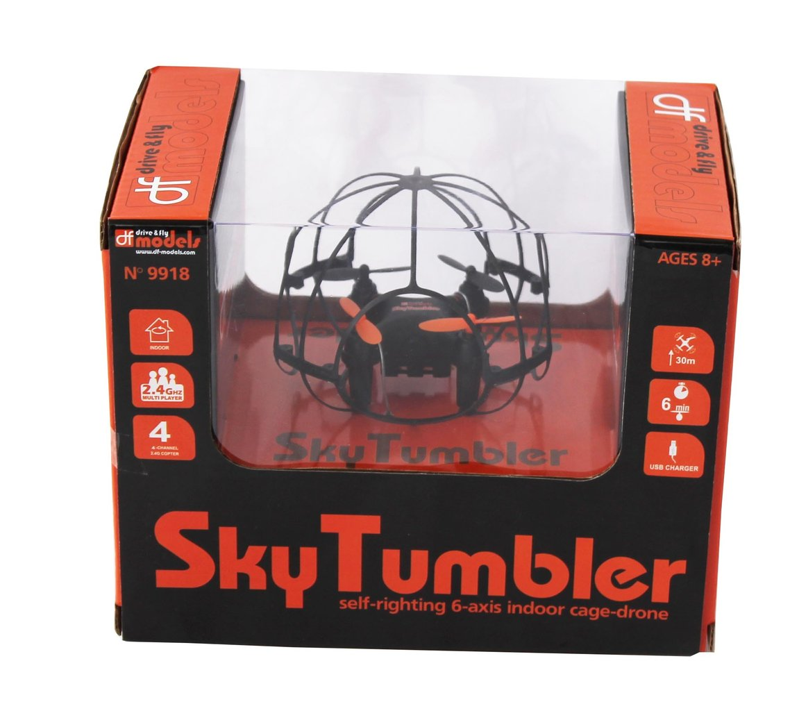 SkyTumbler - RTF - Indoor Cage Drone