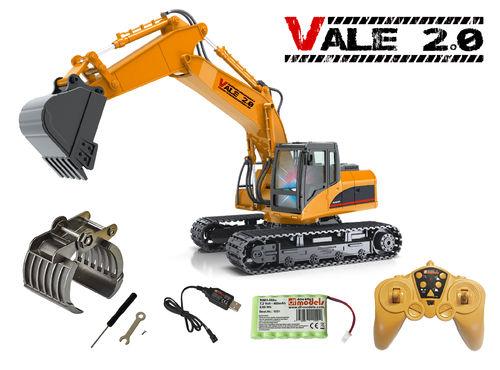 Vale 2.0 RC-Excavator - RTR - 1:14 Scale