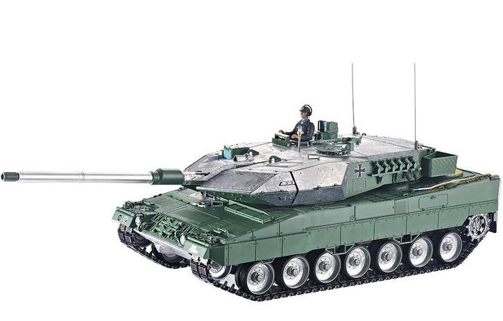 rc panzer leopard 2a6 torro unlackiert