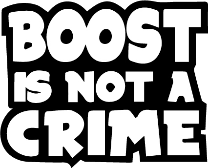 Boost is not a crime
